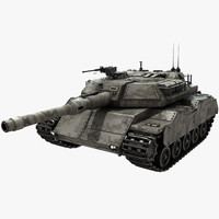 3d model ready tank