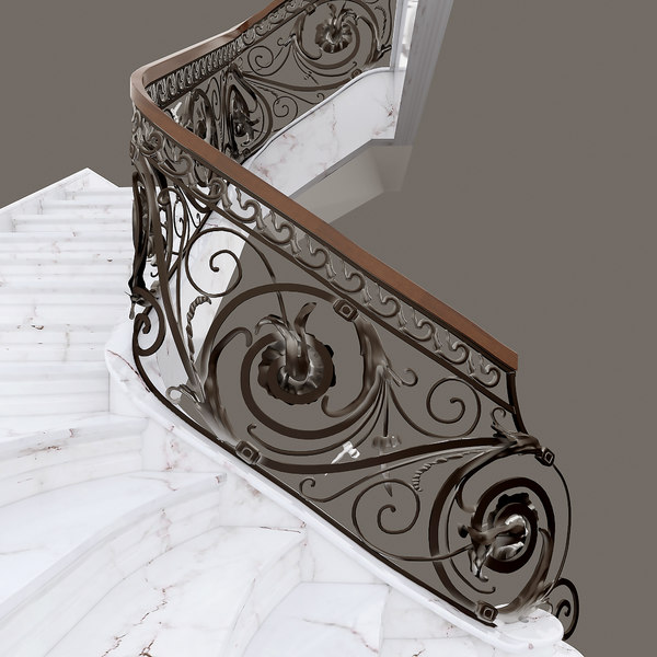 wrought iron stair max