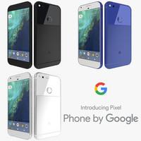 max google pixel colors