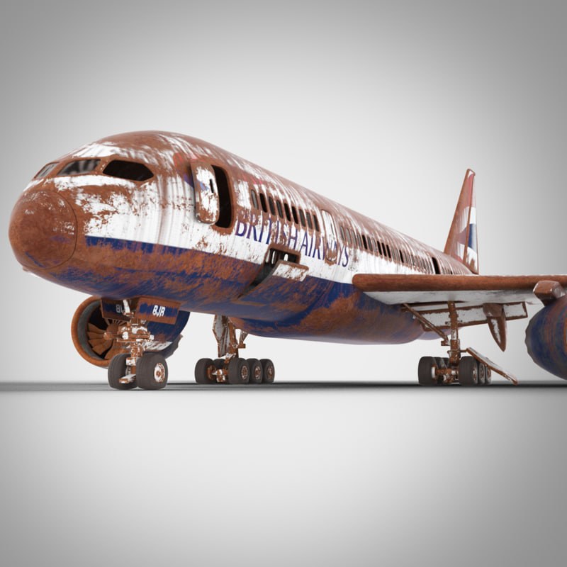 3d old boeing 787