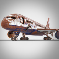3d model of old boeing 787