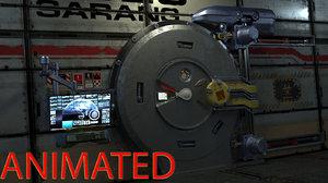 door mechanism springs max