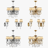 chandelier ricerco osgona 3d model