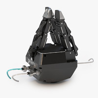 gripper robot 3d 3ds