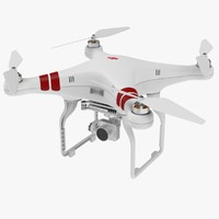 3d quadcopter drone quads model
