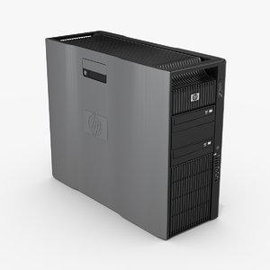 hp z800 workstation 3ds