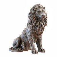 Lion Sculpture 3