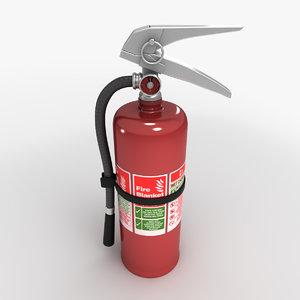 3d max extinguisher