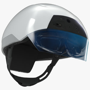 daqri smart helmet - 3d model