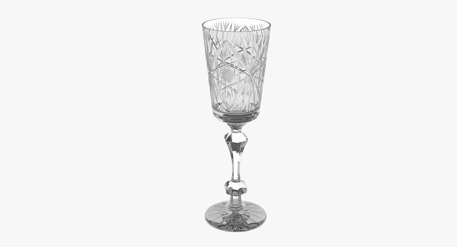 max champagne engraved glass