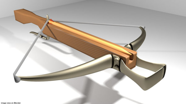 3ds bow crossbow medieval