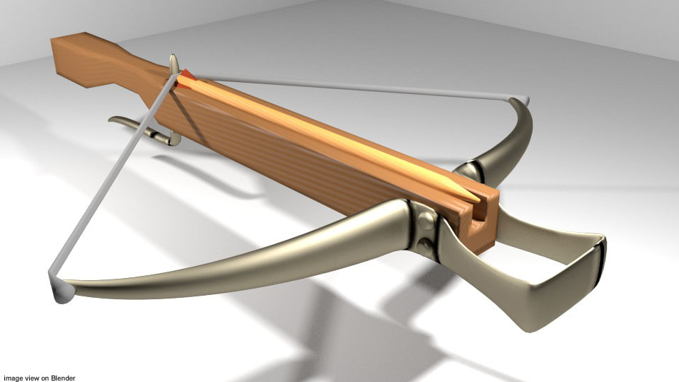 Crossbow - Medieval Type 1