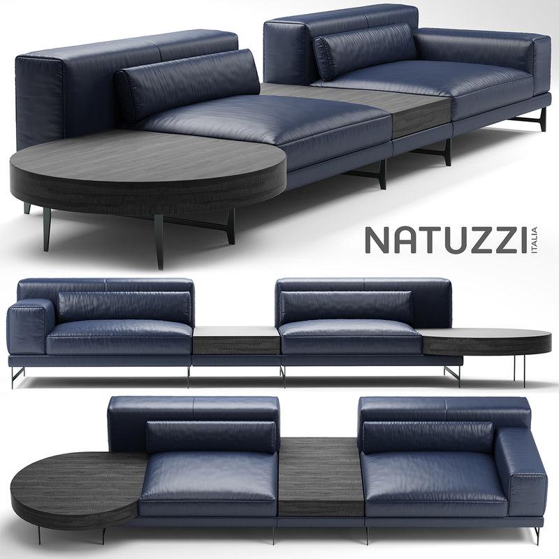3d sofa ido model