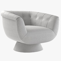 swivel chair vivien 3d max