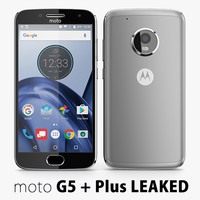 3d model motorola moto g5 leaked