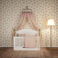 chic crib bedding 3d fbx