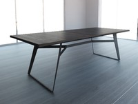 3d table modern industrial