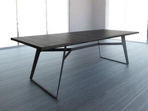 3d table modern industrial