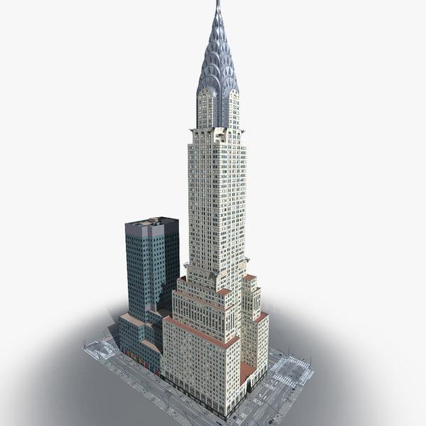 new york manhattan lexington 3d model