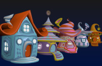 Fantasy Houses 5