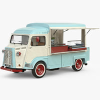 3d model of hy food truck