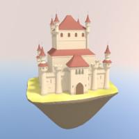 blend medieval castle
