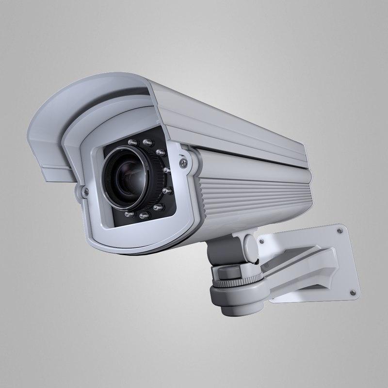security camera c4d