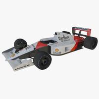 3d model of mclaren mp4 6