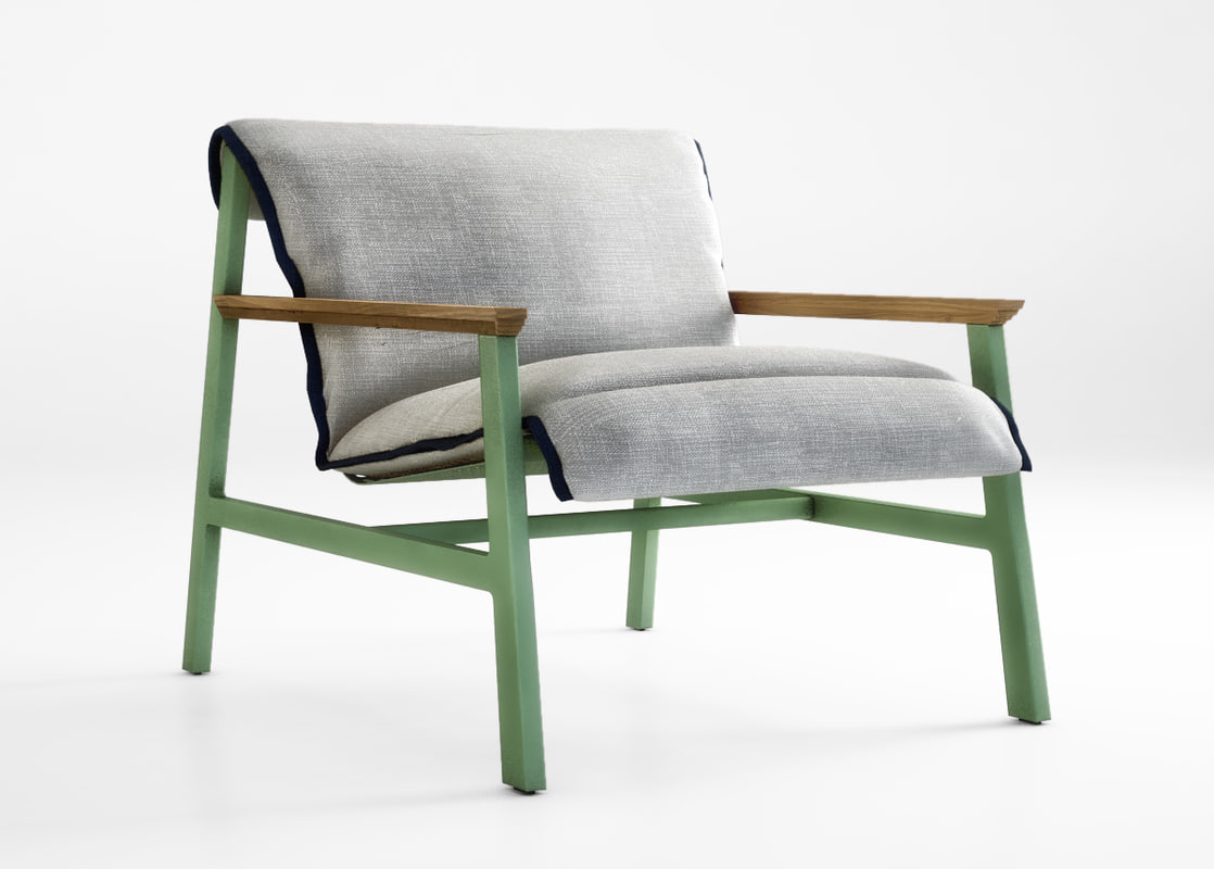 3d Jardan Chair Armchair Model