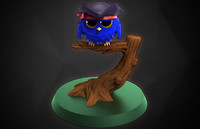 birdy pirate 3d model