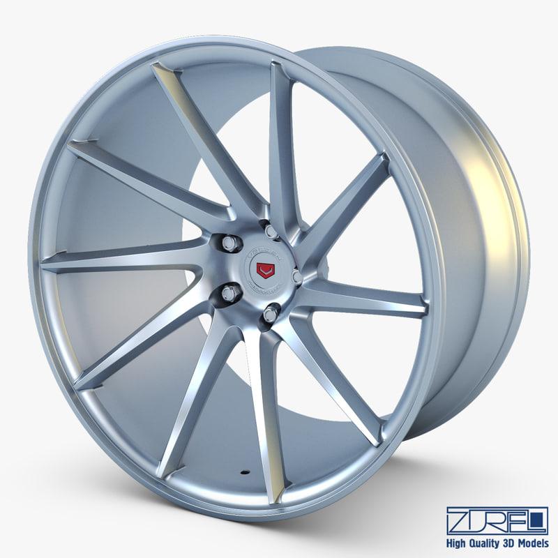 3d vossen vps-310t 19 wheel model