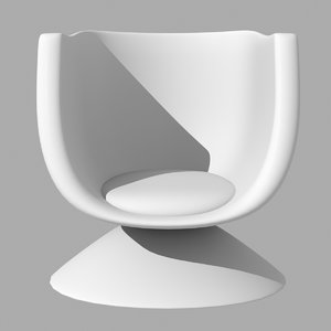 x simple egg chair
