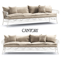 3d model sofa cantori