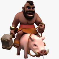 hog rider 3ds