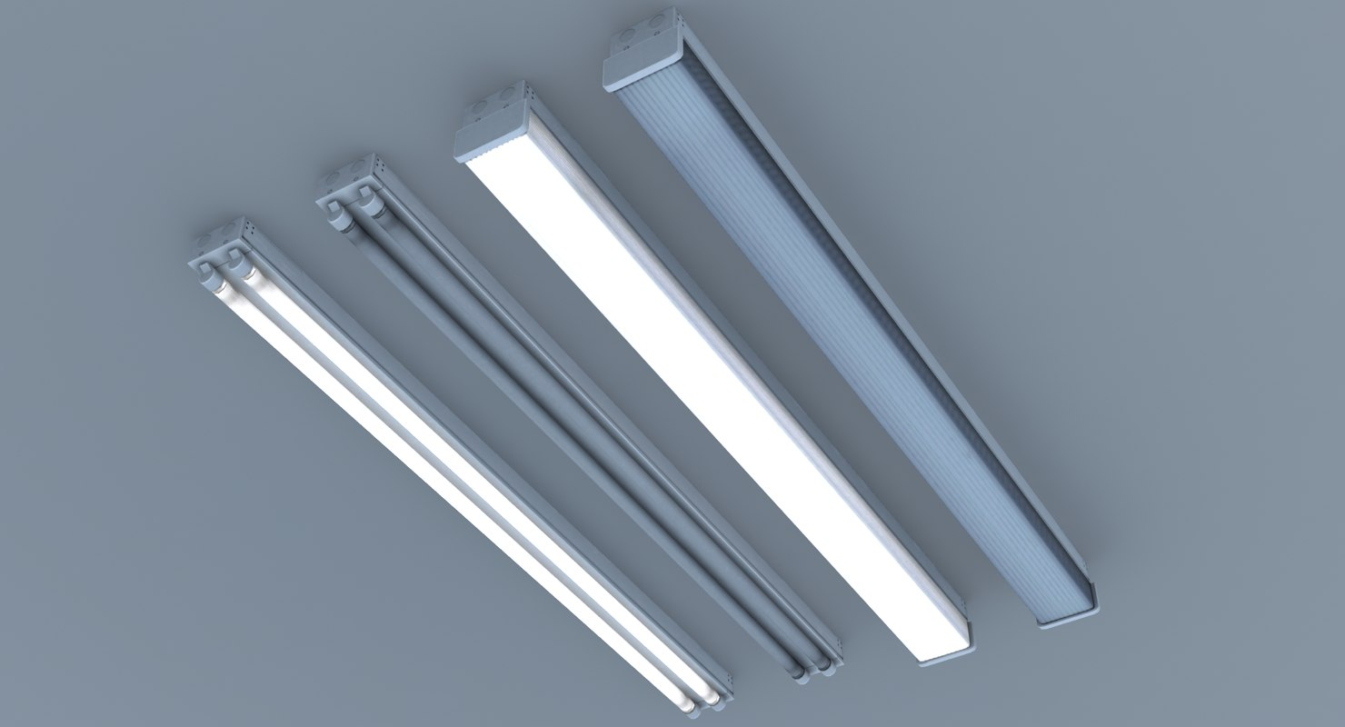 Fluorescent Ceiling Lights