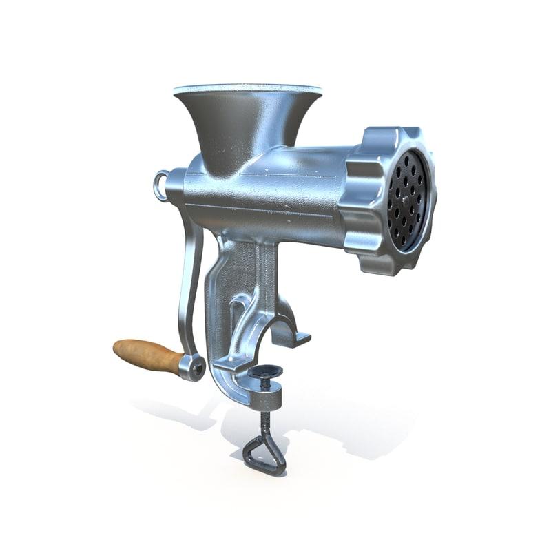 meat mincer 3d model