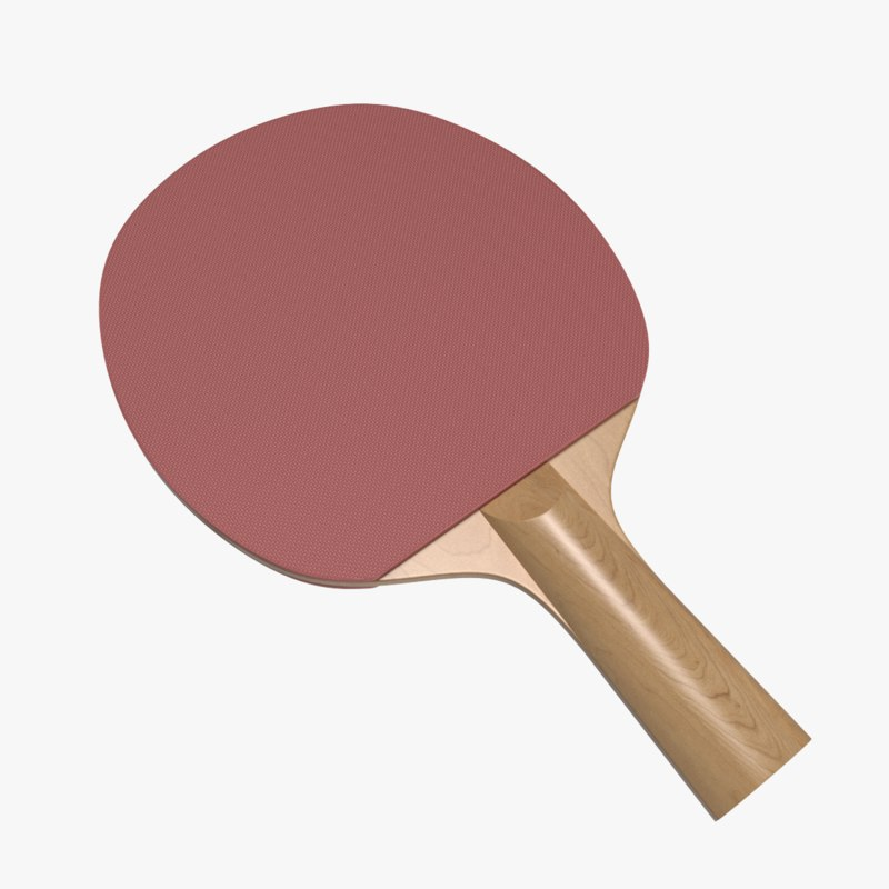 3d ping-pong paddle