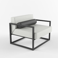 Contemporary Metal arm Chair