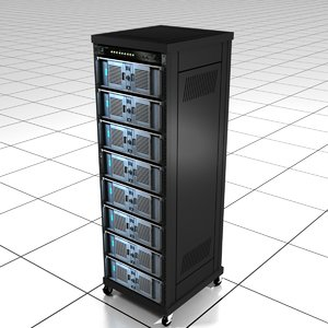 lwo computer server rack
