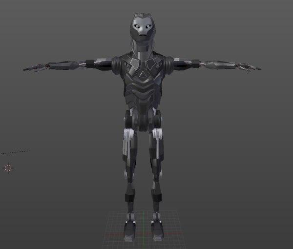 robot games 3d obj