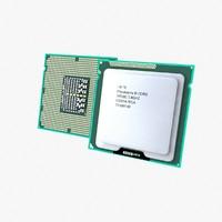 cpu processor 3d model