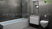 Greatest Design For A Bathroom Photorealistic 3D Rendering