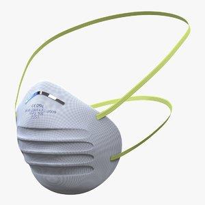 dust mask 3d model