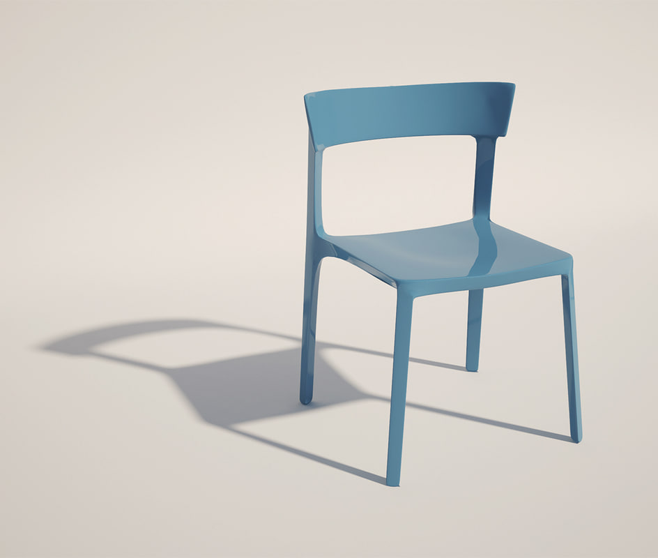 stackable chair 3ds