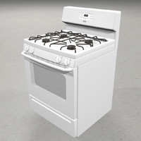 3d model stove gas range