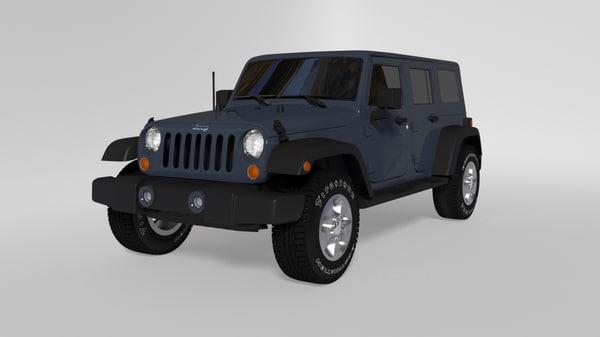 blend jeep wrangler 2017