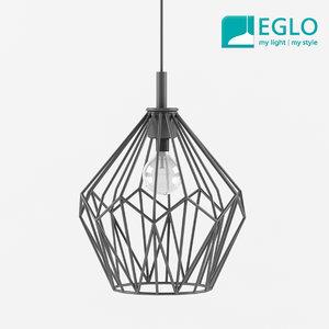 3d model eglo vintage hanging