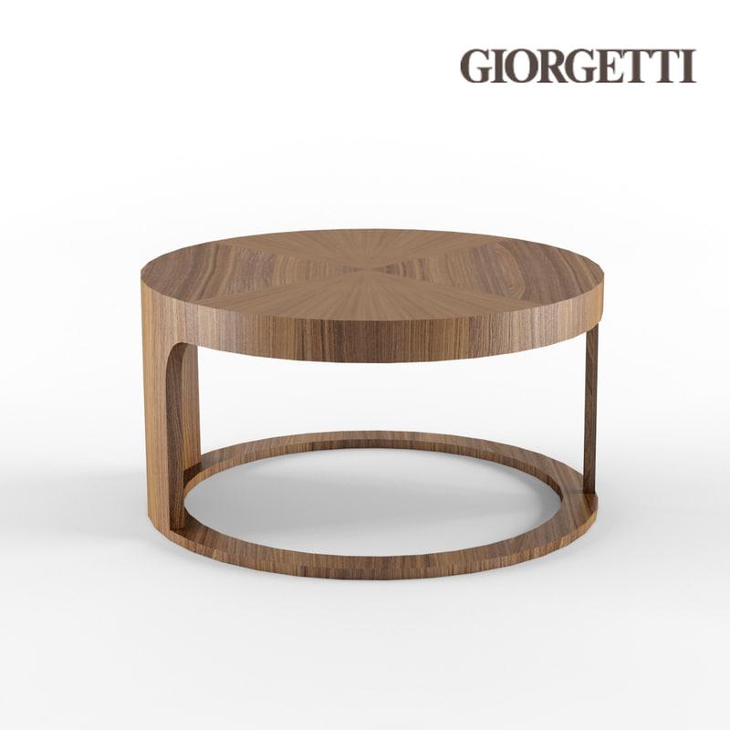 giorgetti coffe table obj