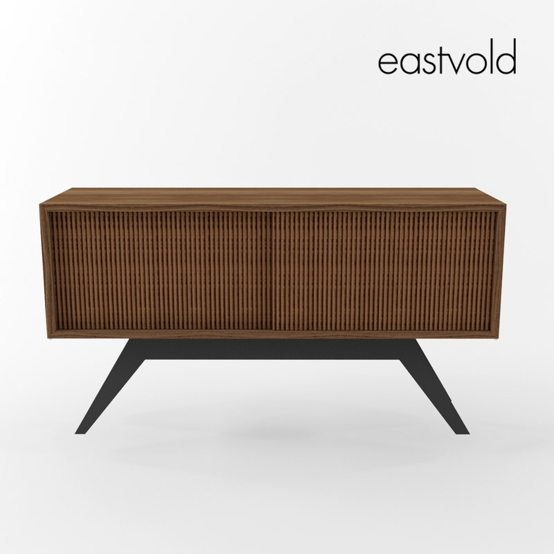 3d model of elko credenza small