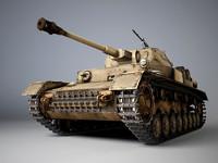 Panzer Pz. IV Ausf.G  German Tank